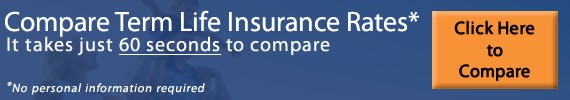 compare term life insurance rates in 60 seconds